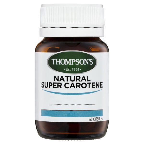 Thompson's Natural Super Carotene 60 caps