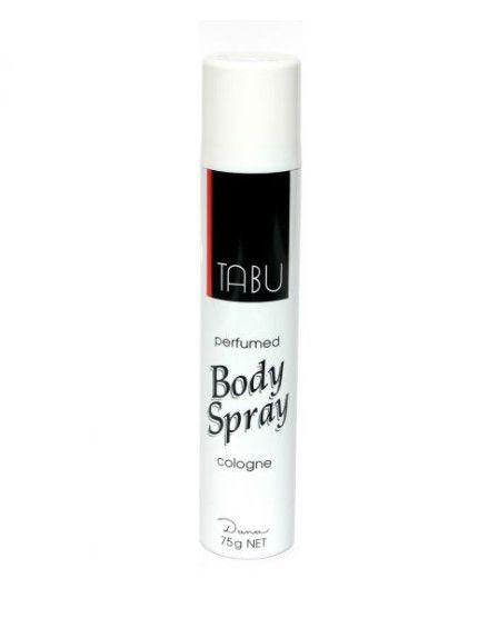 Tabu Perfumed Body Spray Cologne 75ml