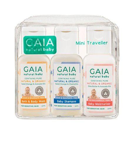 GAIA Natural Baby Mini Traveller Kit 50mL 3 Pack