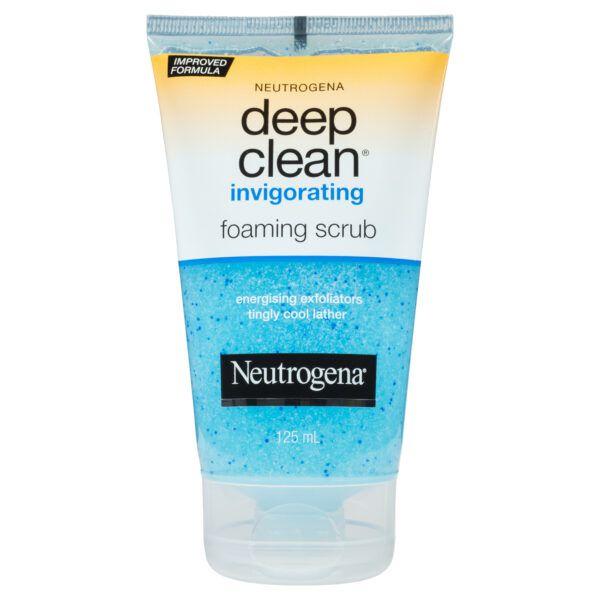 Neutrogena Deep Clean Invigorating Foaming Scrub 125mL