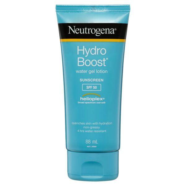 Neutrogena Hydro Boost Water Gel Sunscreen Lotion SPF 50 88mL