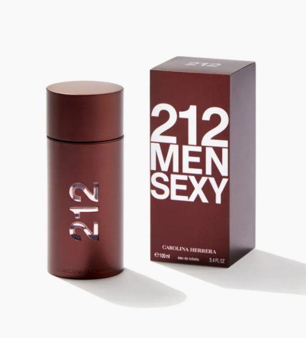 Carolina Herrera 212 Men Sexy Eau De Toilette 100ml