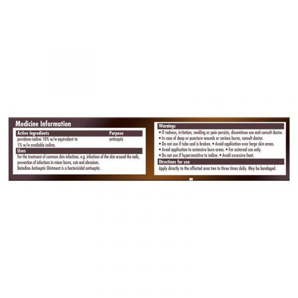 Betadine Antiseptic Ointment 25g 5