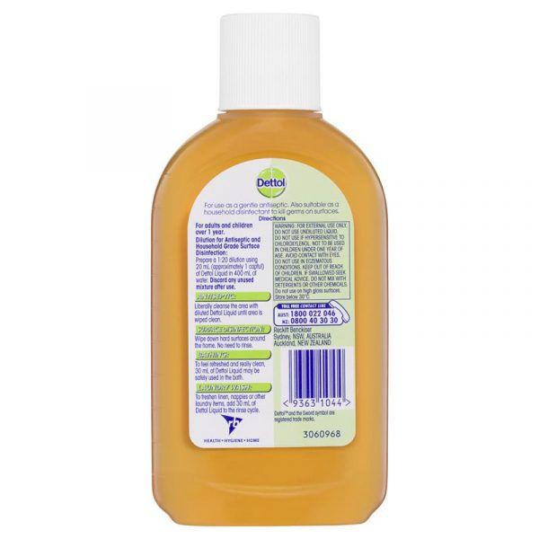Antibacterial Antiseptic Disinfectant Liquid 250ml 4