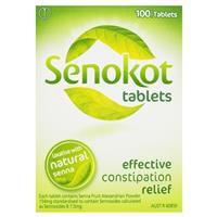 Senokot Tablets Laxative 100 Pack 3