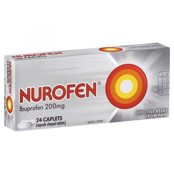 Nurofen Ibuprofen 200mg 24 Caplets 3