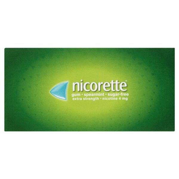 Nicorette Gum 4mg 6