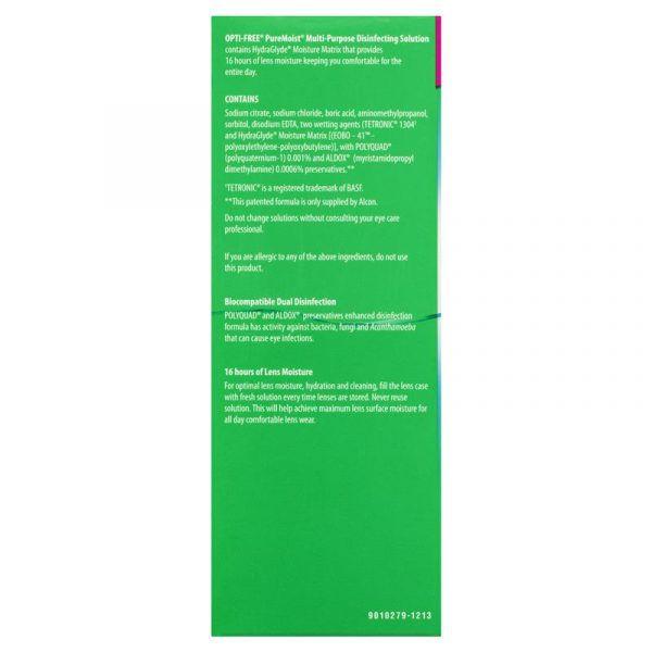 Opti free Puremoist Mega Bundle 780ml 5