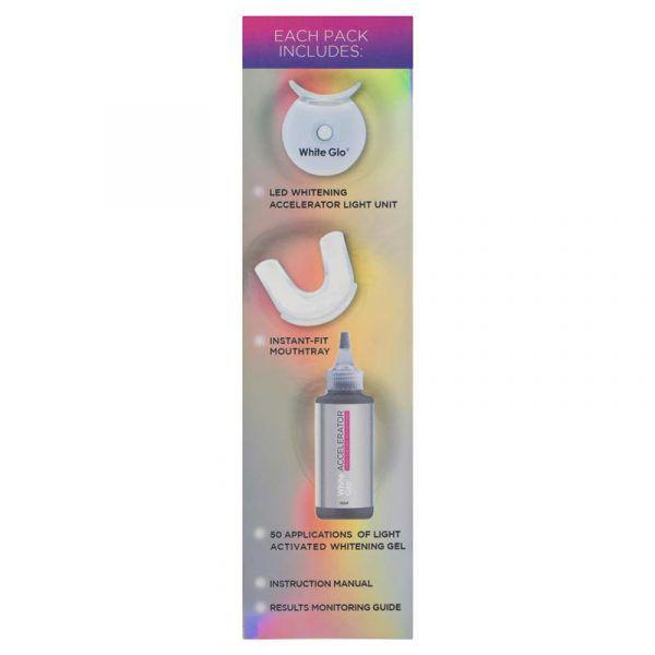 White Glo White Accelerator Blue Light Teeth Whitening System 5