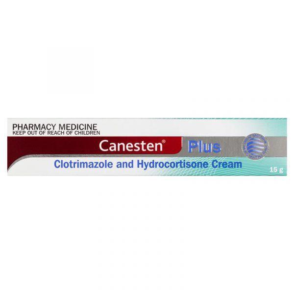 Canesten Plus Antifungal and Anti-Inflammatory Cream 15g 5