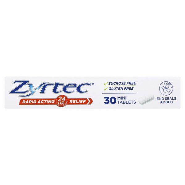 Zyrtec Allergy & Hayfever Antihistamine 30 Tablets 5