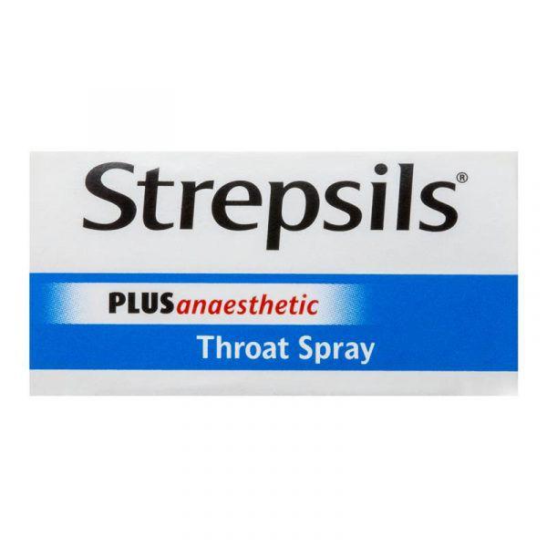 Strepsil Pain Relief Numbing Throat Sore Spray 20ml 8