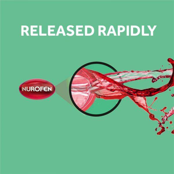 Nurofen Zavance Ibuprofen 20 pack Liquid Capsules 200mg 11