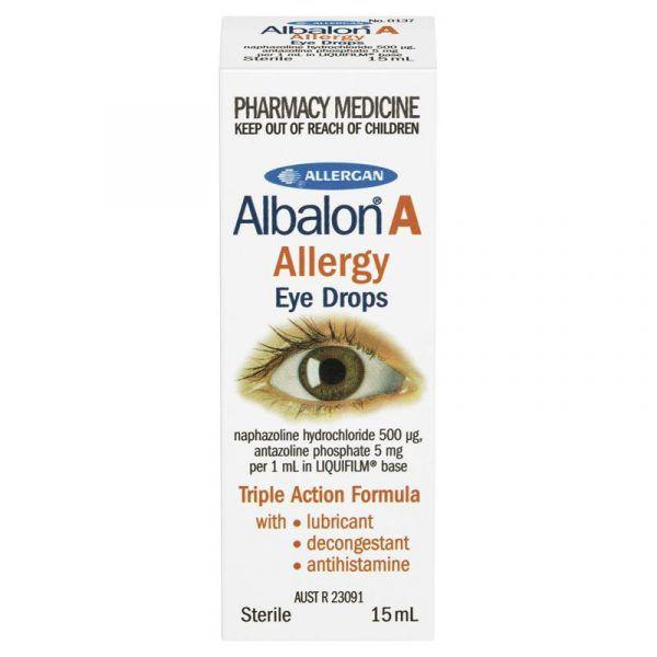 Albalon A Allergy Eye Drops 15mL 8