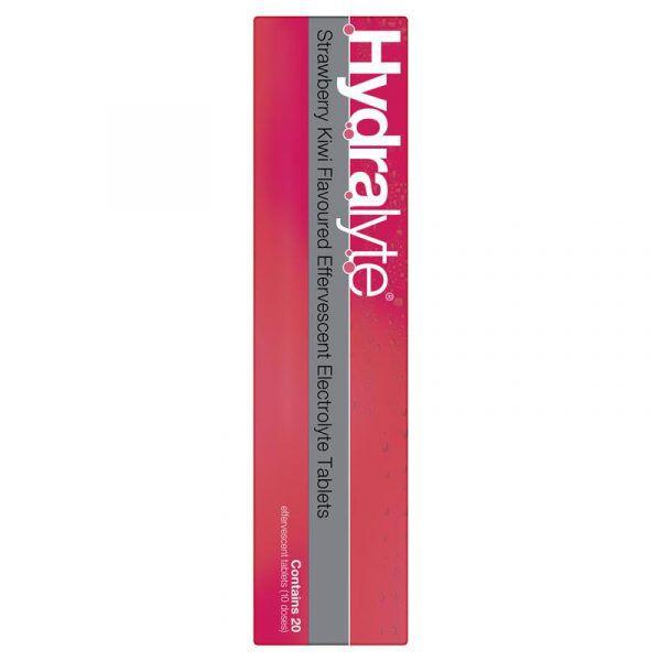 Hydralyte Electrolyte Effervescent Strawberry Kiwi 20 Tablets 11