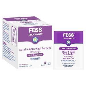 Fess Sinu Cleanse Nasal & Sinus Refills 25 Pack