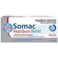 Somac Heartburn Relief 20mg Tablets 7 3