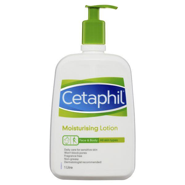 Cetaphil Moisturising Lotion 1L, Daily Face & Body 3