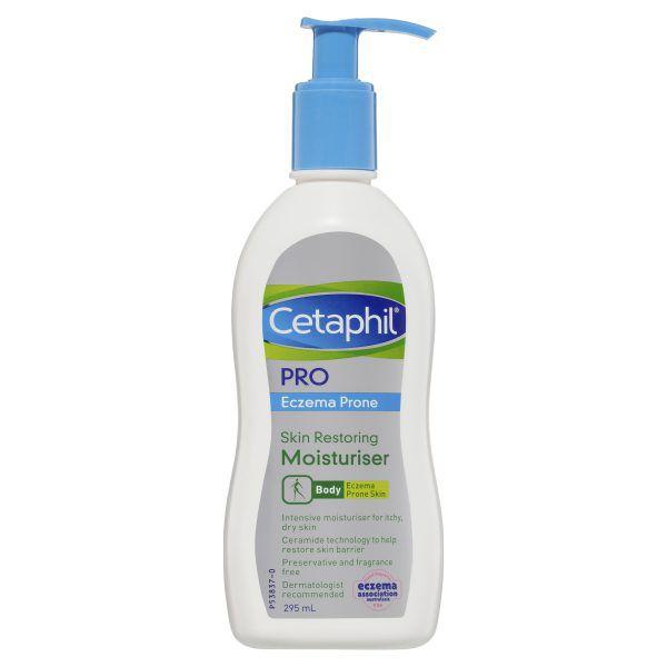 Cetaphil Pro Eczema Prone Skin Restoring Moisturiser 295mL 3