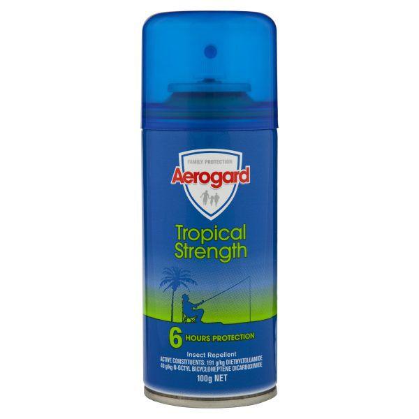Aerogard Tropical Strength Insect Repellent Aerosol Spray 100g 3