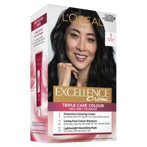 L'Oréal Excellence Crème 1 Black Hair Colour
