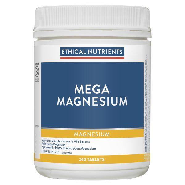 Mega Magnesium 240 Tablets 3