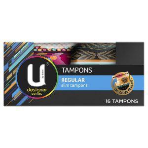 U by Kotex Regular Slim Design Tampons 16 Pack