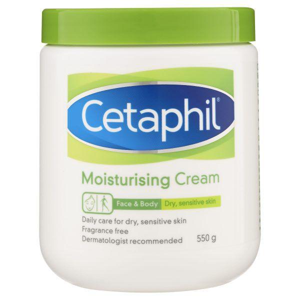 Cetaphil Moisturising Cream 550g, Rich Hydrating Moisturiser 3