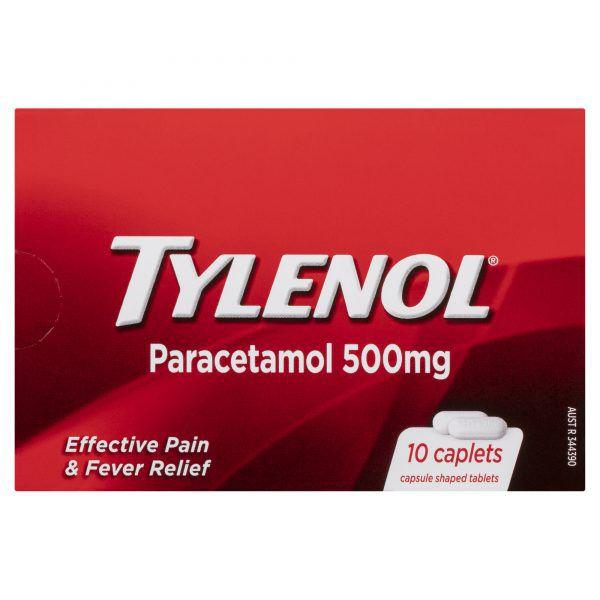 Tylenol Paracetamol 500mg 10 Pack 4