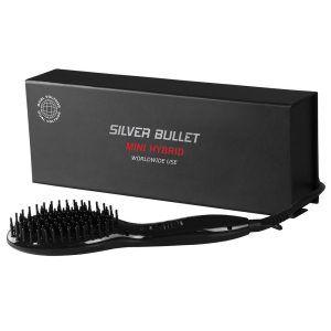 Silver Bullet Mini Hybrid Straightening Brush