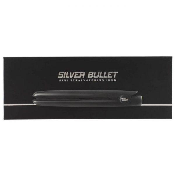 Silver Bullet Mini Hair Straightener Black 4